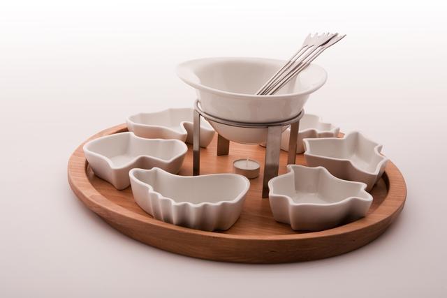 Animals fondue set